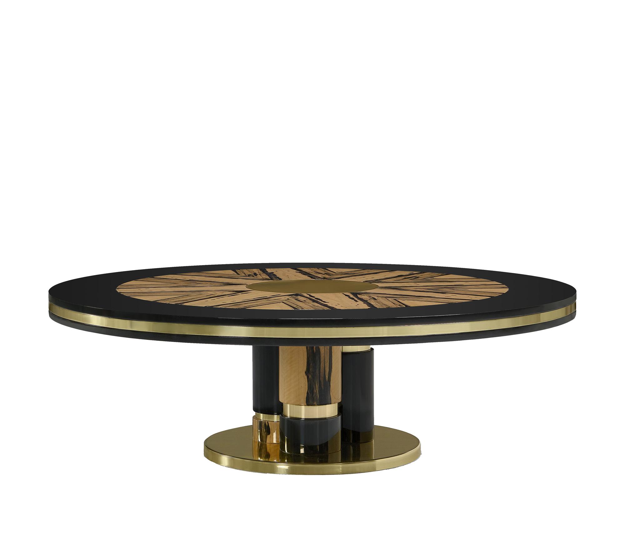 Ebony Center Table