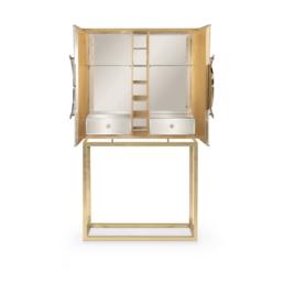 Secret Bar Cabinet Open