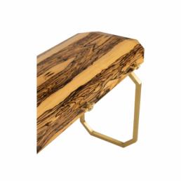 Vertigo Royal Ebony Console Table Detail