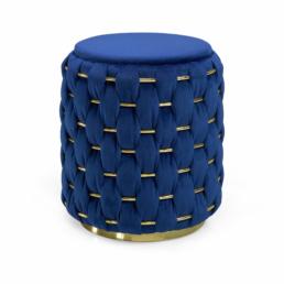 Lust Ottoman Blue