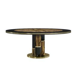 Ebony Dining Table