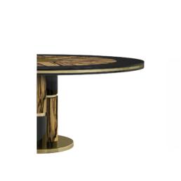 Ebony Dining Table detail